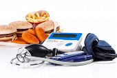 Fast-food And Medical Tools