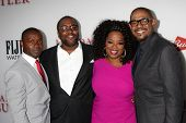LOS ANGELES - AUG 12:  David Oyelowo, Lee Daniels, Oprah Winfrey, Forest Whitaker at the