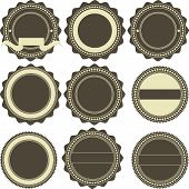 Vintage emblems
