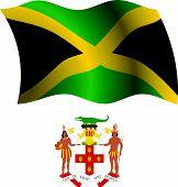 Jamaica Wavy Flag And Coat