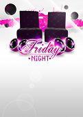 Friday Night Disco Background