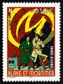 Postage Stamp France 2004 Blake And Mortimer, Comic Characters