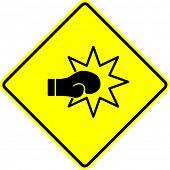 box glove punch signal
