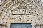 picture of poitiers  - The Cathedral of Saint Pierre Poitiers France - JPG
