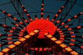 Постер, плакат: Illuminated Ferris Wheel