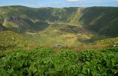 Volcanic crater - Caldera seca