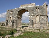 Arc De Triomphe In Volubilis