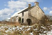 image of derelict  - Derelict farm building in South Wales UK - JPG