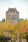 Chateau Frontenac, Quebec City, Canada - view from pier