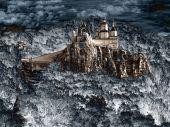 Monastery On The Rock