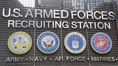 U.S. Armed Forces Recruiting Station in Times Square, New York