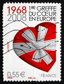 Postage Stamp France 2008 Heart Gift