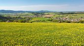 stock photo of horny  - panoramic view of Horni Lidec village  - JPG