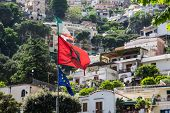 Flags Over Positano