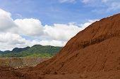 Laterite Ores Stockpile