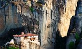 The Holy Monastery of Rousanou / St. Barbara (founded in the middle of 16th century AD) Meteora, Greece
