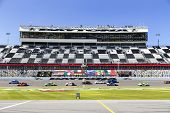 Daytona Beach, FL - Jan 24, 2014:  The Continental Tire SportsCar Challenge teams take to the track