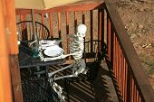 The Worlds Worst Restaurant Service. A customer slowly dies of starvation while waiting for his waiter or waitress at an outdoor caf�?�© or bead and breakfast. Service so slow he starved to death!