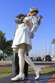 Unconditional Surrender Sculpture