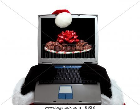 Santa's Laptop poster