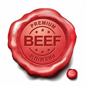 Beef Red Wax Seal