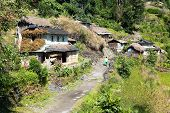 Beautiful Village In Guerrilla Trek - Western Nepal