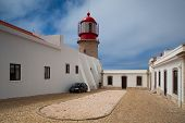 Lighthouse Of Cabo De Sao Vicente, Sagres (built In October 1851)