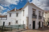 Historic Architecture With Moorish Elements In Tavira City, Algarve,