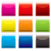 Square Plastic Web Icon
