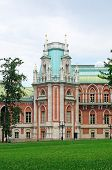 Tower Of The Royal Palace In Tsaritsyno In Moscow