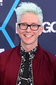 LOS ANGELES - JUL 27:  Tyler Oakley at the 2014 Young Hollywood Awards  at the Wiltern Theater on Ju