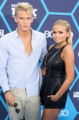 LOS ANGELES - JUL 27:  Cody Simpson, Alli Simpson at the 2014 Young Hollywood Awards  at the Wiltern