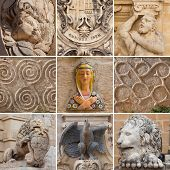?ollection of sculptural images in Malta