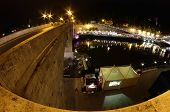 Tiber Isle Night