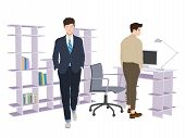 Smart Business office two man