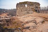 Ruined Tower Of Koporye Fortress, Leningrad Oblast, Russia