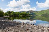 Cumbria Lake District Derwent Water uk near Keswick