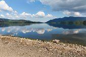 UK Lake District Derwent Water Cumbria England near Keswick