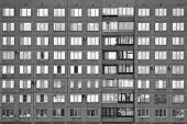 Modern Building On The Outskirts Of St. Petersburg