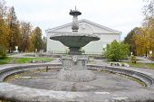 Old Destroyed Fountain.
