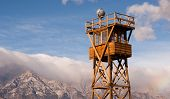 Guard Tower Searchlight Manzanar National Historic Site California