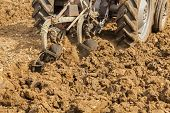 Ploughing Soil