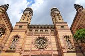 pic of synagogue  - Budapest Hungary  - JPG