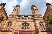image of synagogue  - Budapest Hungary  - JPG