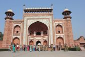 Entrance Gate To Taj Mahal
