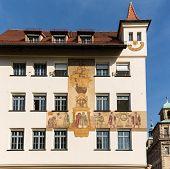 Wall Painting Or Mural Nuremberg