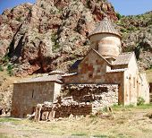 stock photo of apostolic  - Noravank Monastery - JPG