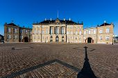picture of v-day  - Amalienborg is the residence of the Danish Royal Family - JPG