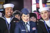 US navy & air force personnel