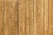 Weathered wooden planks with nails as background texture